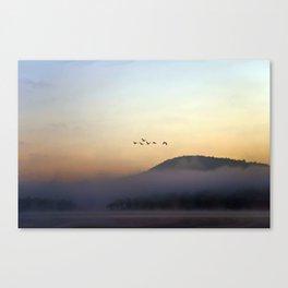 A Sunrise as Good as Gold Canvas Print