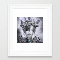 millenium falcon Framed Art Prints featuring Millenium by YttriumDesign