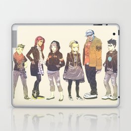 Teen Titans Streetwear Laptop & iPad Skin