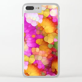 Happy Colors - Soul Vitamins Clear iPhone Case