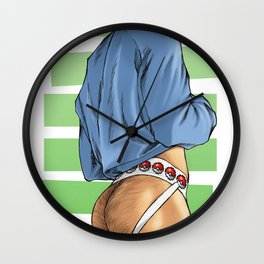 Gotta Catch 'Em All Wall Clock