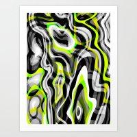 neon Art Prints featuring Neon by Marta Olga Klara