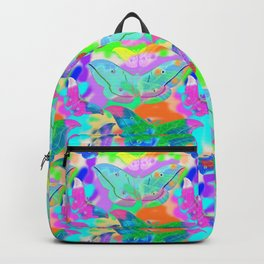 PSYCHEDELIC COLORFUL BUTTERFLIES  Backpack