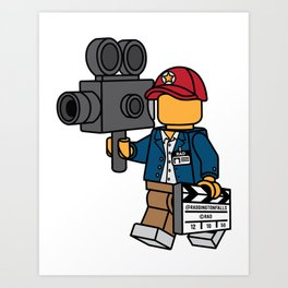Director's Cut Art Print
