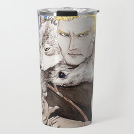 A Wolf in Disguise Travel Mug