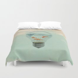 Ideas and Goldfish (RM) Duvet Cover