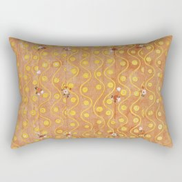 Beethoven Frieze by Gustav Klimt Rectangular Pillow