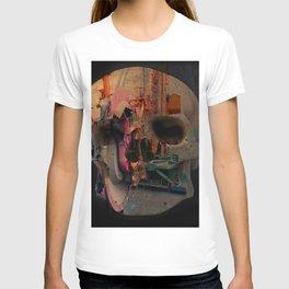 Skull machine T-shirt