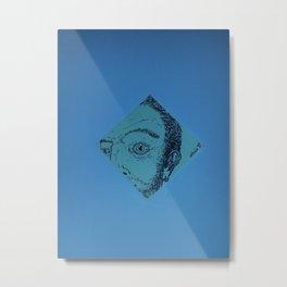 autoritratto #01 Metal Print