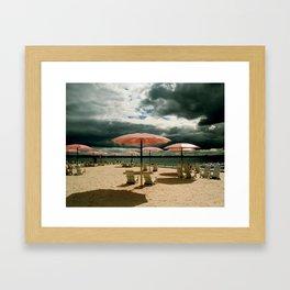 Sugar Beach Framed Art Print
