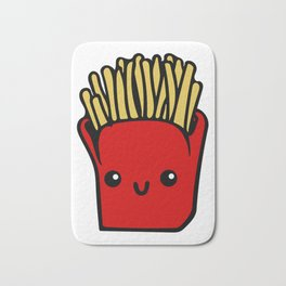 fries fun Cartoon Chips, Character, Characters, Cute, Fast Food Bath Mat