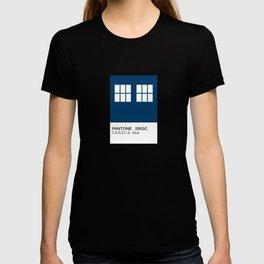 TARDIS Blue Pantone T-shirt