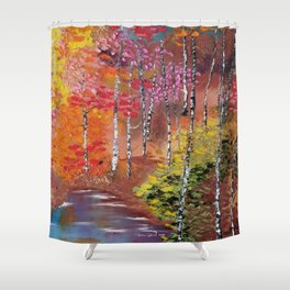 Seasons of Change Shower Curtain