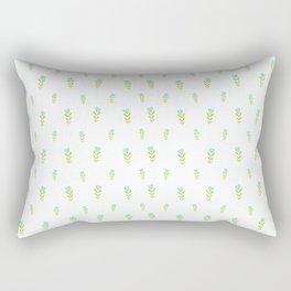 Sweetheart – Blue & Green Rectangular Pillow