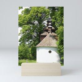 Cerkiew w Bielicznej Mini Art Print