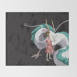 Spirited Away Throw Blanket