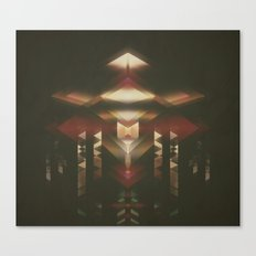 Particle Glow Canvas Print