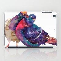 takmaj iPad Cases featuring Pigeons by takmaj
