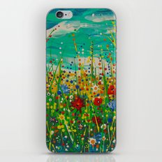 Flowers of happiness iPhone & iPod Skin