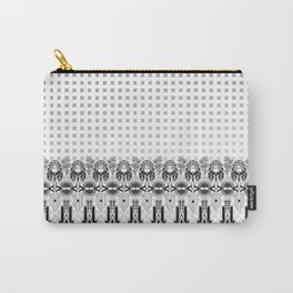 Art deco grid Carry-All Pouch