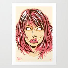 Right Through You Art Print