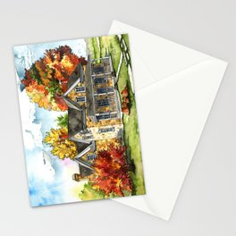 October on the Farm Stationery Cards