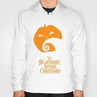 nightmare before christmas Hoodies featuring The Nightmare before Christmas by Citron Vert
