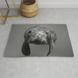 Little Manatee B&W Rug