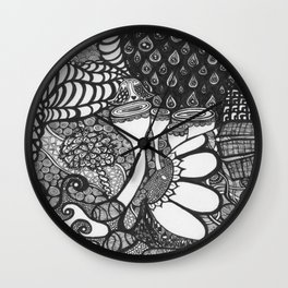 A Whole New World (Abstract) Wall Clock