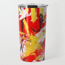 Red&Gold Travel Mug