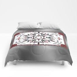Mando'ade Darasuum (gradient background) Comforters