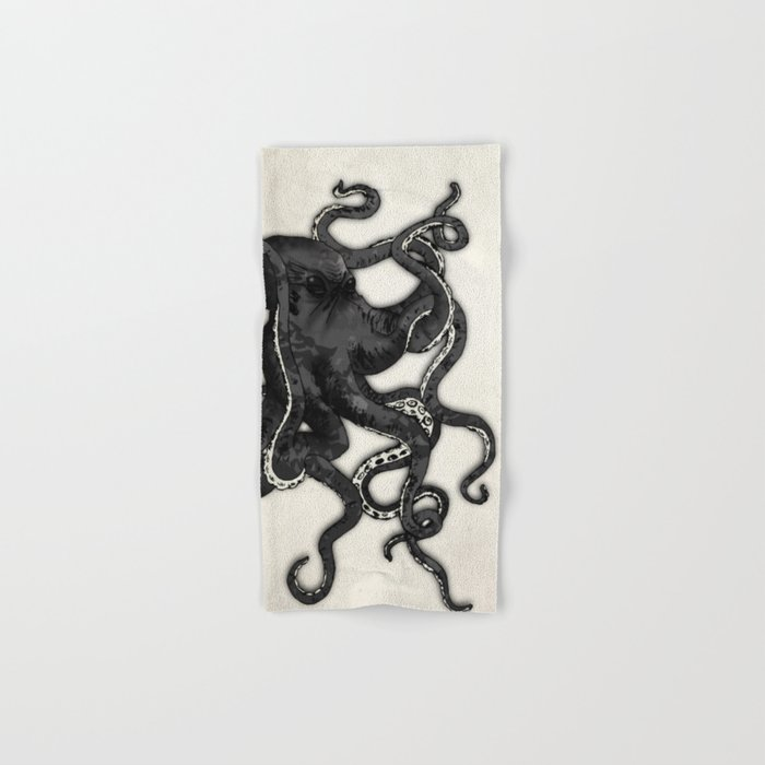 Octopus Hand & Bath Towel