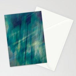 Submerge Aqua Stationery Cards