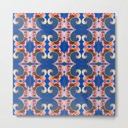 Feng Shui Synergy Sacred Geometry Portal Print Metal Print