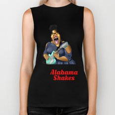 Brittany Howard  Caricature for shirt Biker Tank