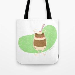 Strawberry Mocha Parfait Tote Bag