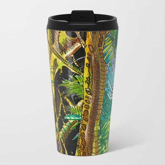 Imaginary Rainforest III Metal Travel Mug