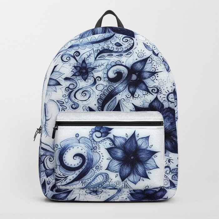 Ballpoint Florals Backpack