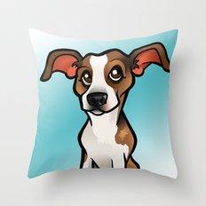 Miso (Beagle) Throw Pillow