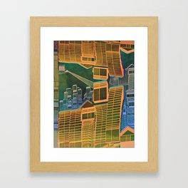 Spatial Structure 27-07-16 Framed Art Print