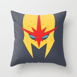 Nova - Bucket-Head Throw Pillow
