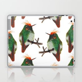Rufous-crested Coquette Laptop & iPad Skin