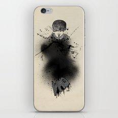 Style outside, man inside iPhone & iPod Skin