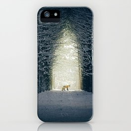 Lady into Fox iPhone Case