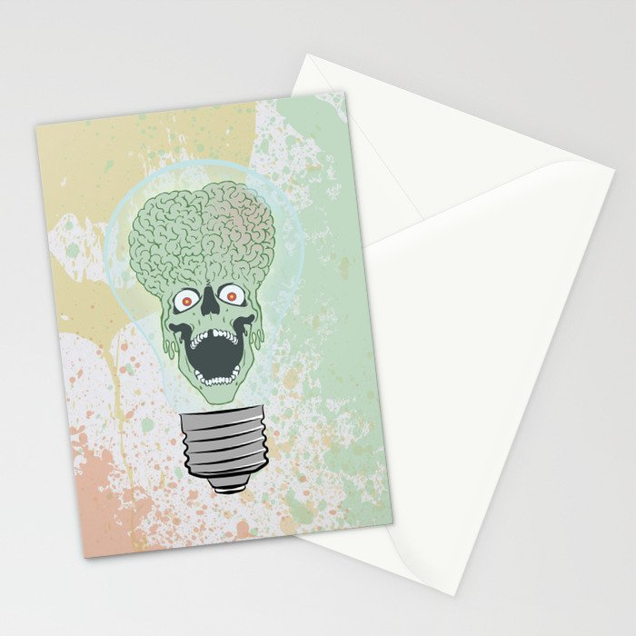 Think Martian  Stationery Cards