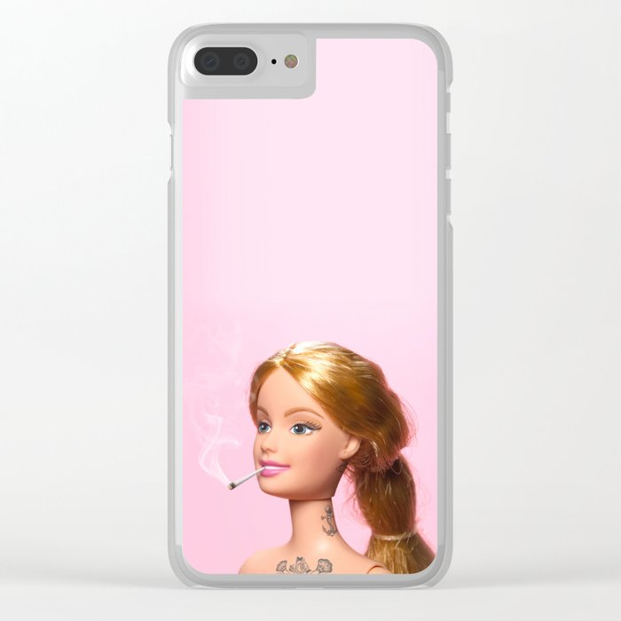 Doll Grown Up Clear iPhone Case