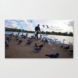 Birdman I Canvas Print