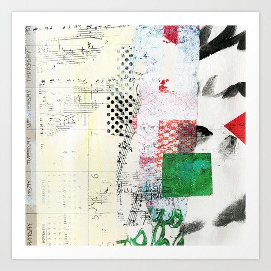 Collage 3 Art Print