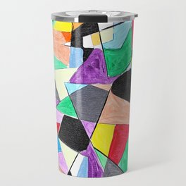 African colors Travel Mug