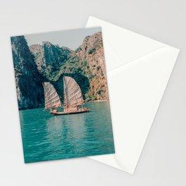 Junk on Halong Bay, Vietnam Stationery Cards